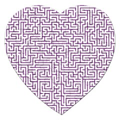 Maze Lost Confusing Puzzle Jigsaw Puzzle (heart)