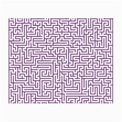 Maze Lost Confusing Puzzle Small Glasses Cloth