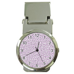 Maze Lost Confusing Puzzle Money Clip Watches