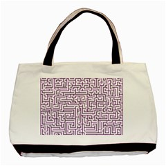 Maze Lost Confusing Puzzle Basic Tote Bag