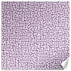 Maze Lost Confusing Puzzle Canvas 12  X 12