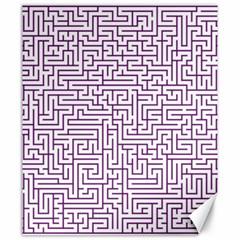 Maze Lost Confusing Puzzle Canvas 20  X 24