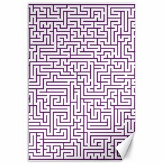 Maze Lost Confusing Puzzle Canvas 20  X 30