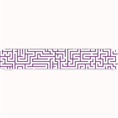 Maze Lost Confusing Puzzle Small Bar Mats
