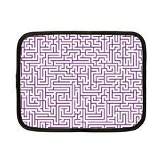 Maze Lost Confusing Puzzle Netbook Case (small)