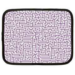 Maze Lost Confusing Puzzle Netbook Case (Large)