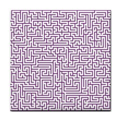 Maze Lost Confusing Puzzle Face Towel