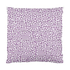 Maze Lost Confusing Puzzle Standard Cushion Case (two Sides)