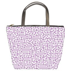 Maze Lost Confusing Puzzle Bucket Bags