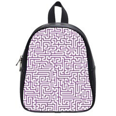 Maze Lost Confusing Puzzle School Bags (small)