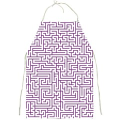 Maze Lost Confusing Puzzle Full Print Aprons