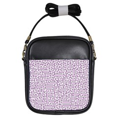 Maze Lost Confusing Puzzle Girls Sling Bags