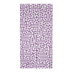 Maze Lost Confusing Puzzle Shower Curtain 36  X 72  (stall)