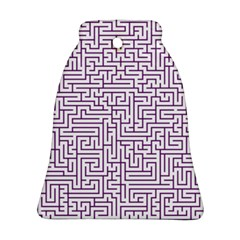 Maze Lost Confusing Puzzle Ornament (bell)