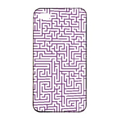 Maze Lost Confusing Puzzle Apple Iphone 4/4s Seamless Case (black)