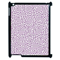 Maze Lost Confusing Puzzle Apple Ipad 2 Case (black)
