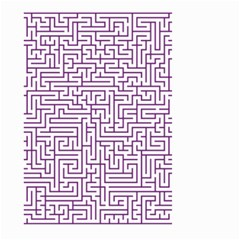 Maze Lost Confusing Puzzle Large Garden Flag (two Sides)