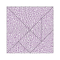 Maze Lost Confusing Puzzle Acrylic Tangram Puzzle (6  X 6 )
