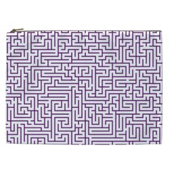 Maze Lost Confusing Puzzle Cosmetic Bag (xxl)