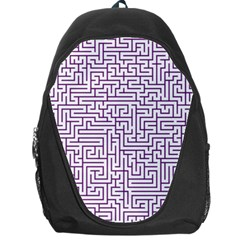 Maze Lost Confusing Puzzle Backpack Bag