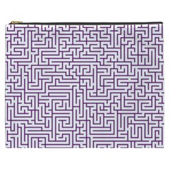 Maze Lost Confusing Puzzle Cosmetic Bag (xxxl)