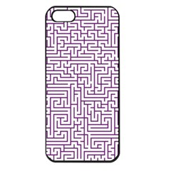 Maze Lost Confusing Puzzle Apple Iphone 5 Seamless Case (black)