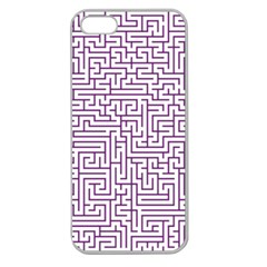 Maze Lost Confusing Puzzle Apple Seamless Iphone 5 Case (clear)