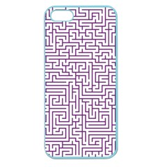 Maze Lost Confusing Puzzle Apple Seamless Iphone 5 Case (color)