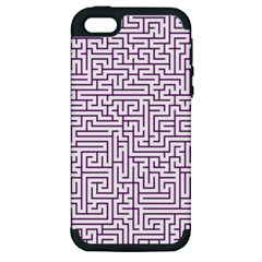 Maze Lost Confusing Puzzle Apple Iphone 5 Hardshell Case (pc+silicone)