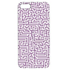 Maze Lost Confusing Puzzle Apple Iphone 5 Hardshell Case With Stand