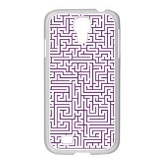 Maze Lost Confusing Puzzle Samsung Galaxy S4 I9500/ I9505 Case (white)