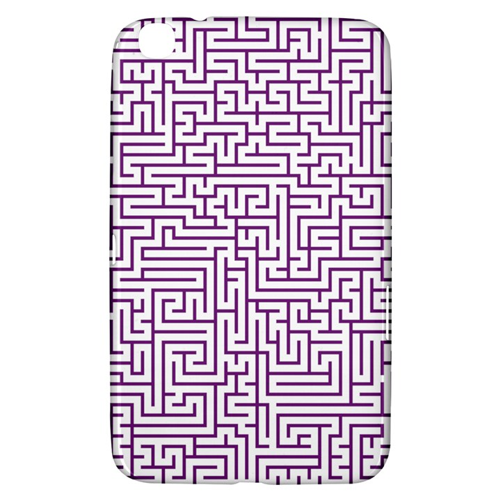 Maze Lost Confusing Puzzle Samsung Galaxy Tab 3 (8 ) T3100 Hardshell Case