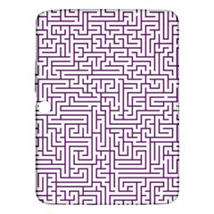 Maze Lost Confusing Puzzle Samsung Galaxy Tab 3 (10 1 ) P5200 Hardshell Case