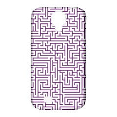 Maze Lost Confusing Puzzle Samsung Galaxy S4 Classic Hardshell Case (PC+Silicone)