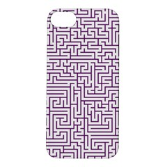 Maze Lost Confusing Puzzle Apple Iphone 5s/ Se Hardshell Case