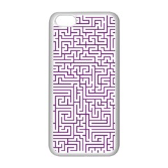 Maze Lost Confusing Puzzle Apple Iphone 5c Seamless Case (white)