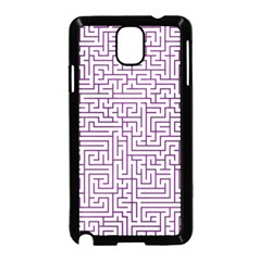 Maze Lost Confusing Puzzle Samsung Galaxy Note 3 Neo Hardshell Case (black)