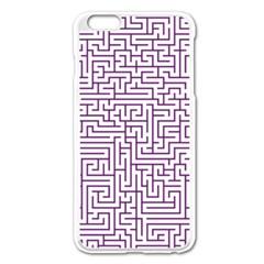 Maze Lost Confusing Puzzle Apple Iphone 6 Plus/6s Plus Enamel White Case