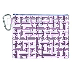 Maze Lost Confusing Puzzle Canvas Cosmetic Bag (xxl)