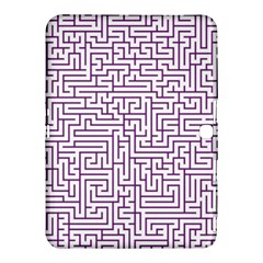 Maze Lost Confusing Puzzle Samsung Galaxy Tab 4 (10 1 ) Hardshell Case