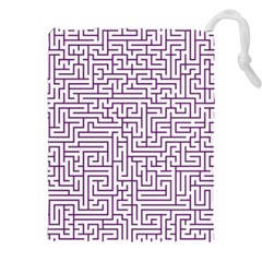 Maze Lost Confusing Puzzle Drawstring Pouches (XXL)