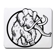 Mammoth Elephant Strong Large Mousepads