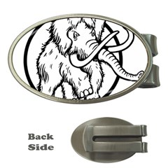 Mammoth Elephant Strong Money Clips (oval)