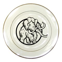 Mammoth Elephant Strong Porcelain Plates