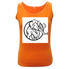 Mammoth Elephant Strong Women s Dark Tank Top