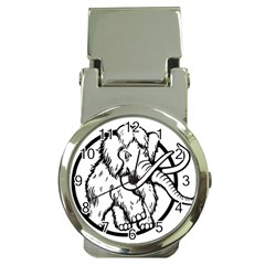 Mammoth Elephant Strong Money Clip Watches