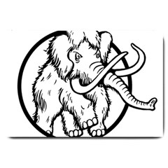 Mammoth Elephant Strong Large Doormat