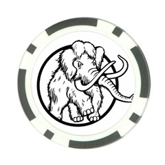 Mammoth Elephant Strong Poker Chip Card Guards