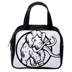 Mammoth Elephant Strong Classic Handbags (one Side)