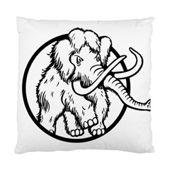 Mammoth Elephant Strong Standard Cushion Case (one Side)
